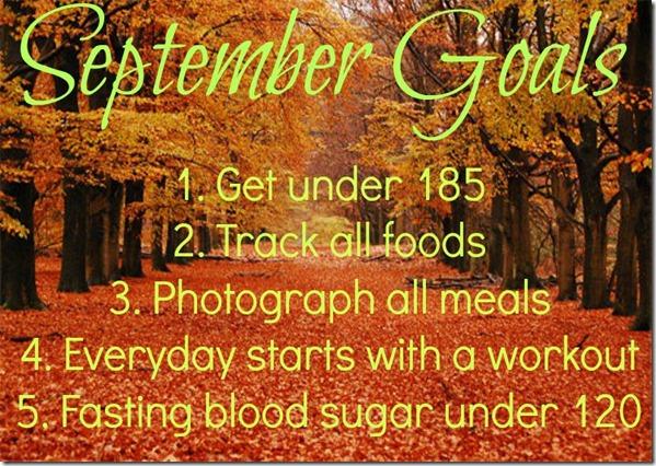SeptemberGoals